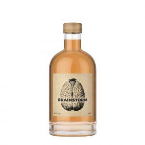 brainstorm gin flasche-mit-hintergrund-weiss